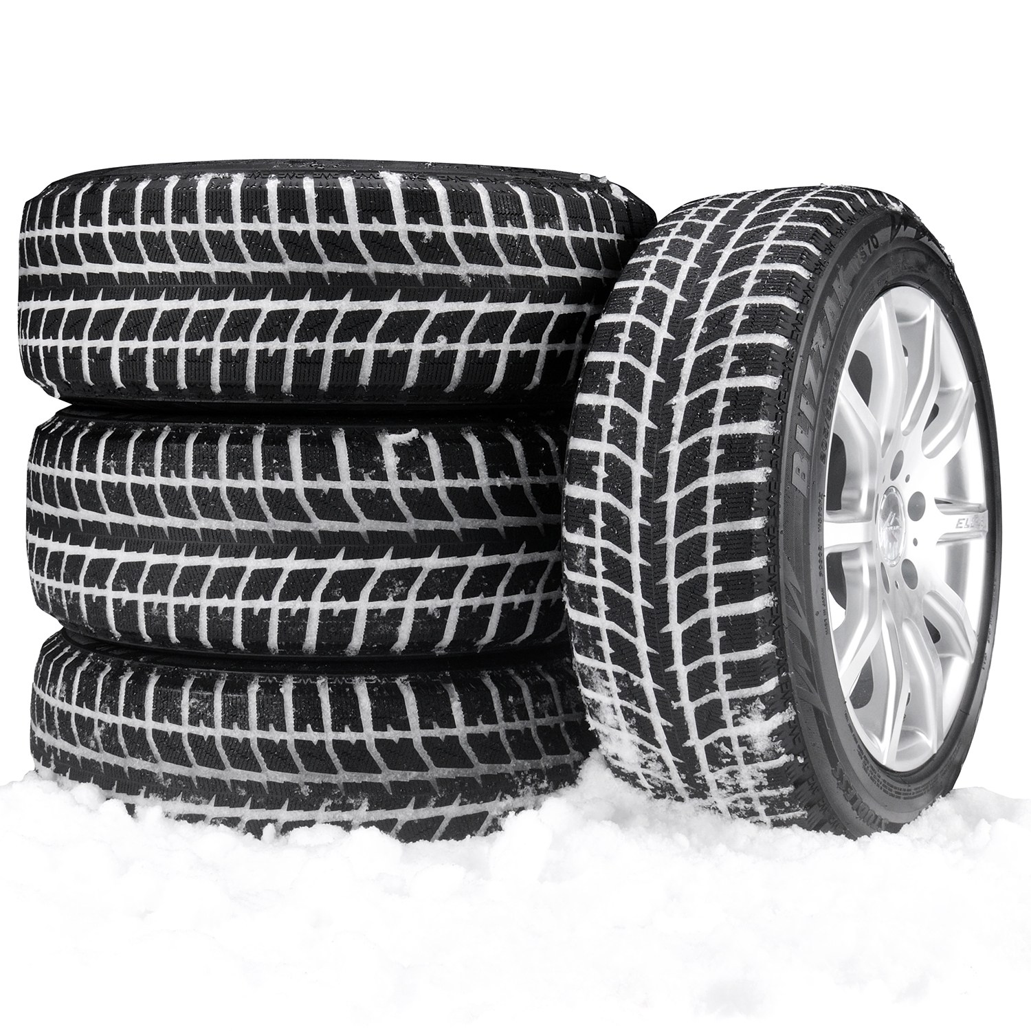 In the past, winter tires have been notoriously loud, however this is no longer the case. When changing from an all-season tire to a winter tire, you may hear a slight difference, but the noise levels are nowhere near as drastic as in the past. Changing from all-season tires to studded winter tires will show a noticeable increase in noise.